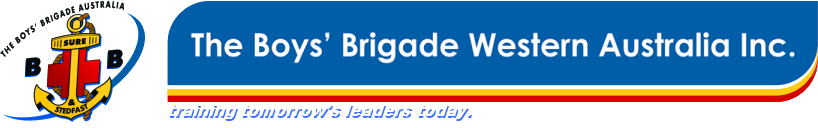 The Boys Brigade Western Australia Training Tomorrow S Leaders Today